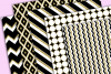 Black White and Gold Textures example image 2