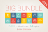 83 Off - Outlined Icons Big Bundle example image 1