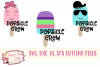 Popsicle Crew - Summer - Kids SVG, DXF, AI, EPS example image 1