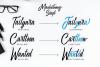 Manhatoone Script, 3 font example image 3