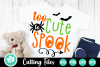 Too Cute to Spook - A Halloween SVG Cut File example image 1