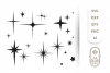Stars SVG Bundle - 13 Designs , Christmas SVG , Star Vector example image 2