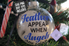 Feathers Appear when Angels are Near SVG - memorial ornament example image 2