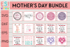 Mom | Mother's Day Bundle | Mom and Mum Designs example image 2