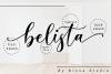 Belista Script example image 10