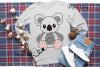 Koala SVG / PNG / EPS / DXF Files example image 5