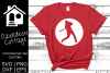 Baseball Player Cut Out Design example image 1