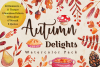 Autumn Delights Watercolor Pack example image 1