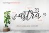 Astra | Modern Typeface example image 4
