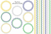 Mod Chain Patterns, Borders & Frames example image 2