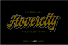 Hovercity script font example image 1