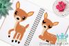 Does Deer Clipart, Instant Download Vector Art example image 3