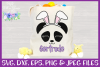 Easter | Panda Face SVG Cut File example image 2