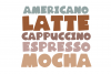 The Coffee Bundle - 6 Fun & Quirky Fonts example image 26