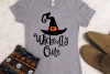 Wickedly Cute- Halloween SVG / DXF example image 1