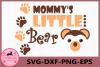 Mommy's Little Bear svg, Bear svg, Baby svg, Little Bear SVG example image 1