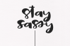 Sassy - A Bold Script Font example image 3