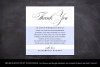 Printable Thank You Letter Template, Wedding Table Thank You example image 4