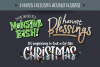 Holiday Font Pack example image 3