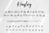Kinsley Script example image 11