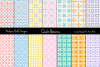 Pastel Geometric Quilt Patterns example image 1