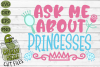 Ask Me About Princesses SVG example image 2