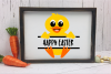 Baby Duck Personalize Design BOY - An Easter SVG example image 3