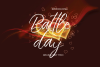 Battle Day Brush Font Trio example image 1