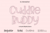 Cuddle Buddy A cute playful Font example image 2