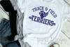 Terrier, Track and Field, Team, Logo, PRINT, CUT, DESIGN example image 2