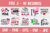 Valentines SVG Bundle| Valentine's Day Cut Files | Funny SVG example image 4