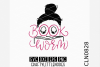 Hand Lettered- Book Worm example image 1