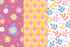 12 Easter Seamless Patterns example image 4