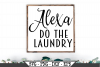 Alexa Do The Laundry SVG example image 1