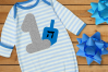 First Hanukkah Dreidel SVG File Cutting Template example image 1