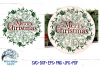 Winter Mandala SVG Bundle | Christmas Mandala SVG Cut Files example image 2