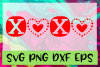 XOXO SVG PNG DXF & EPS Design Files example image 1