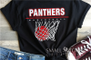 Panther, Basketball, Team, Sport, Design, PRINT, CUT, DESIGN example image 1
