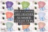 Bella Canvas T Shirt Mockup Bundle, Heather 3001, Summer example image 1