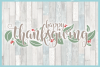 Happy Thanksgiving Quote With Leaves Berries SVG example image 3