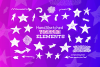 Handsketched Vector elements/arrows/stars example image 1
