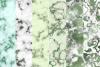 Emerald digital paper, green marble digital paper textures example image 8