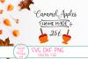 Fall SVG,Thanksgiving SVG, Caramel Apples, Farmhouse, Autumn example image 2