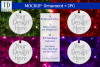 Round Christmas Ornament Mockup, Bauble Mock- Up, JPG example image 1