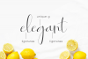 Roselyne Calligraphy Script Font example image 3