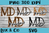 Maryland MD State Leopard Bundle example image 1