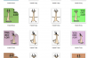 Yoga 4 designs - Outline and Colored SVG-EPS-JPG-PNG example image 2
