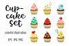 Cupcakes set & patterns example image 2
