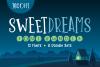 Sweet Dreams Font Bundle example image 1
