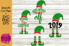 Christmas Elf - Bundle - Hat and Shoes Socks - SVG EPS PNG example image 1